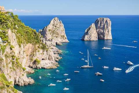 Amalfi to Capri: 6-Hour Private Boat Excursion