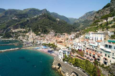 Private Full-Day Boat Excursion on the Amalfi Coast
