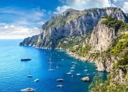 Capri und Positano: Ganztägige private Bootsfahrt