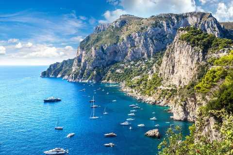 Capri and Positano Full-Day Private Boat Trip