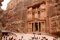 Excursão de 1 Dia em Petra saindo de Jerusalém