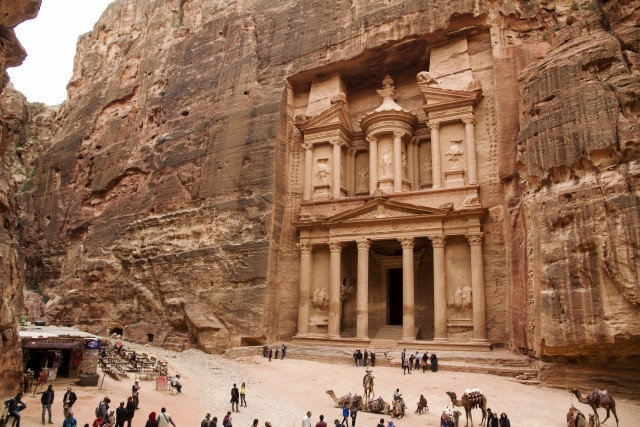Vanuit Jeruzalem: daguitstap naar Petra