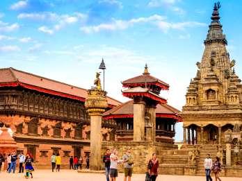 Ab Kathmandu: Private Tour nach Patan und Bhaktapur