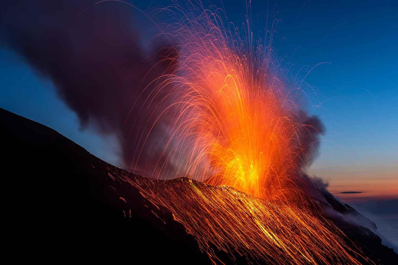 Stromboli: Sonnenuntergangs-Wanderung in Sciara Del Fuoco