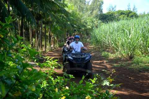 2-Hour Quad Bike Tour of the Wild South of Mauritius