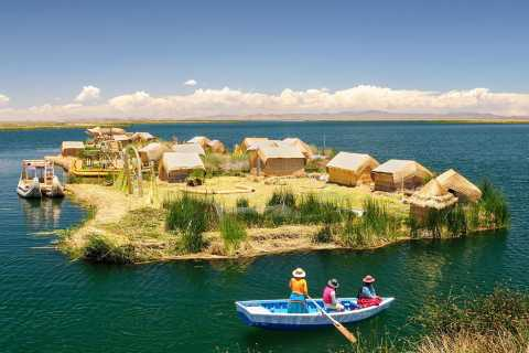 From Puno: Uros Islands Half-Day Tour