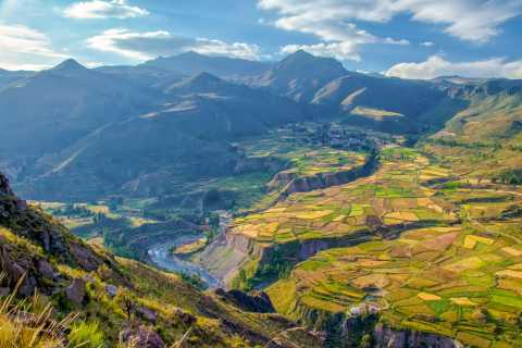 From Arequipa: Colca Canyon Two-Day Tour