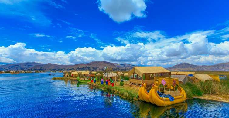 From Puno: Uros Floating Islands Guided Tour