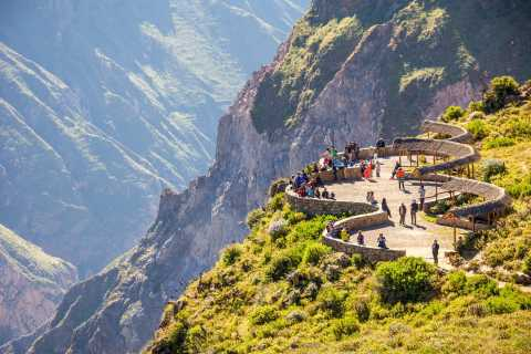 From Arequipa: 2-Day Colca Canyon Tour with Transfer to Puno