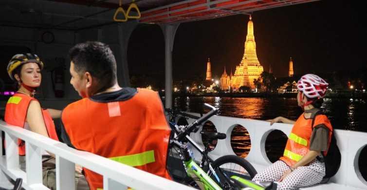 Bangkok: Night Bike Ride and Dinner at a Local Restaurant