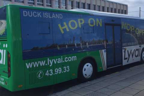 Noumea: Hop-On Hop-Off Bus from Cruise Ship Terminal