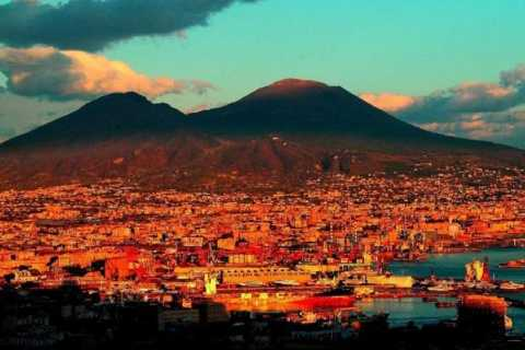 From Naples: Private Full-Day Pompeii and Amalfi Coast Tour