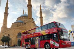 Beirute: Excursão de ônibus panorâmico pela cidade