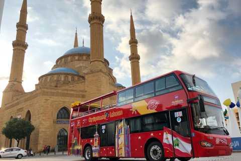 Beirut: Recorrido en autobús turístico por la ciudad
