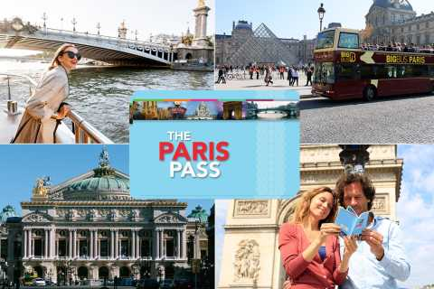 The Paris Pass®: Free Entry to Over 60 Attractions