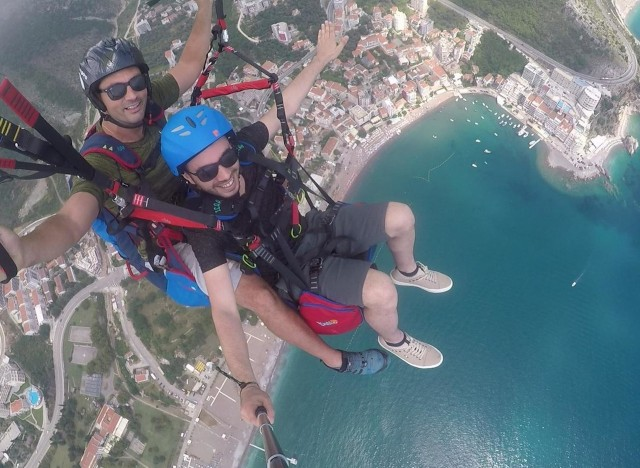 Budva of Petrovac: Paragliding Experience