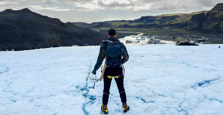 Från Reykjavik: södra kusten och vandring på glaciär