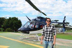 Passeio de Helicóptero Cataratas do Iguaçu - Ingresso
