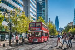 Santiago: Bilhete de Ônibus Hop-On Hop-Off