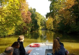 What to do in Leipzig - Leipzig: 70-Minute Motorboat Canal Sightseeing Cruise