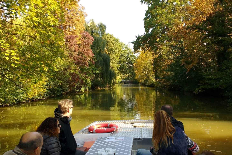 Leipzig: Sightseeing-Tour in den Kanälen per Motorboot