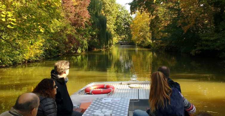 Leipzig: 70-Minute Motorboat Canal Sightseeing Cruise