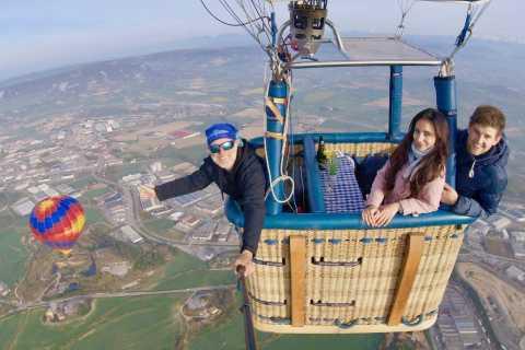 Vuelo privado en globo para dos personas desde Barcelona