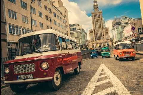 Warsaw: Private Tour by Communist Van