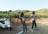 Ganztägige Vespa-Tour in der Toskana zum Chianti-Gebiet