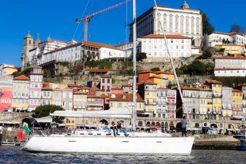 Porto: Douro River Sailing Boat Tour