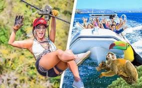 Puerto Vallarta: Zip Lines & River Fun with Transport