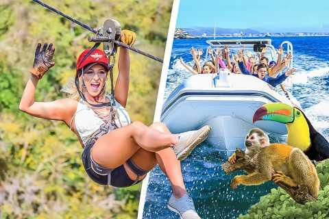 Puerto Vallarta: Zip Lines & River Fun with Transport