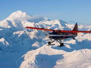 Talkeetna: Malerischer Rundflug über die Südseite des Denali