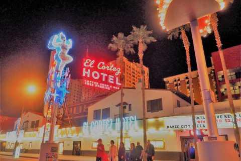 Las Vegas: visite à pied Neon Twilight avec cocktails