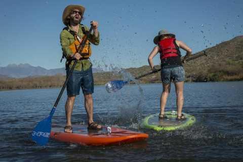 Phoenix: Lake Kayaking & Paddle Boarding Tour