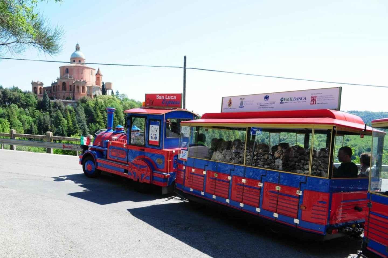 Von Bologna: Zugfahrt zur Basilika San Luca & Verkostung