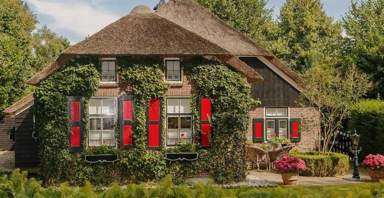 Desde Ámsterdam: excursión privada de un día a Giethoorn y Lelystad