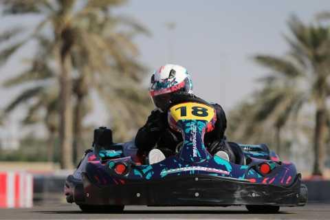 Abu Dhabi: Yas Marina Circuit Kartzone
