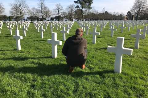 Normandy D-Day All Day Tour by Minibus from Paris