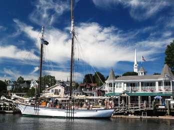 Penobscot Bay: Historischer Segelschifffahrt mit Schoner