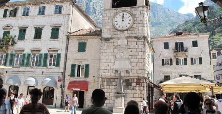 Kotor: Private Old Town and Jaz Beach Tour