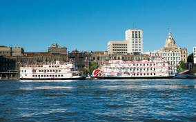 Savannah: Riverboat Cruise & City Tour Combo