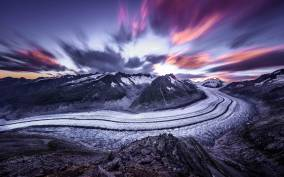 Aletsch Glacier: Round-trip Cable Car Ticket to Eggishorn