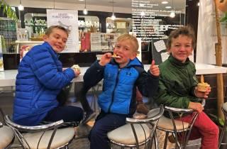 Kinderfreundliche Highlights der Rom-Tour mit Eisverkostung
