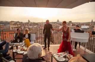 Rom: Opernkonzert in einer Rooftop Bar