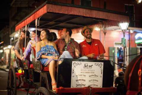 New Orleans: Geschichte und Spuk Kutschfahrt Nachttour
