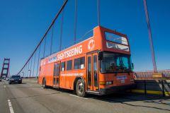 Bilhete Ônibus Hop-On Hop-Off 48 Horas e Ingresso Alcatraz