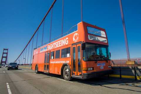 48 Hour Hop-on Hop-off Bus Tour and Alcatraz Ticket