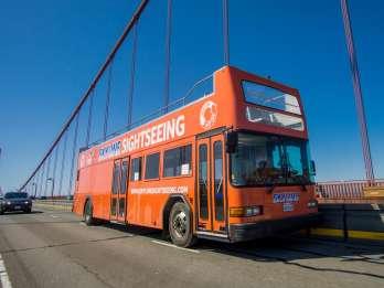 San Francisco: 48h-Hop-On/Hop-Off-Bus & Alcatraz-Ticket
