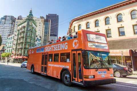San Francisco Hop-On Hop-Off 48-Hour Bus Pass